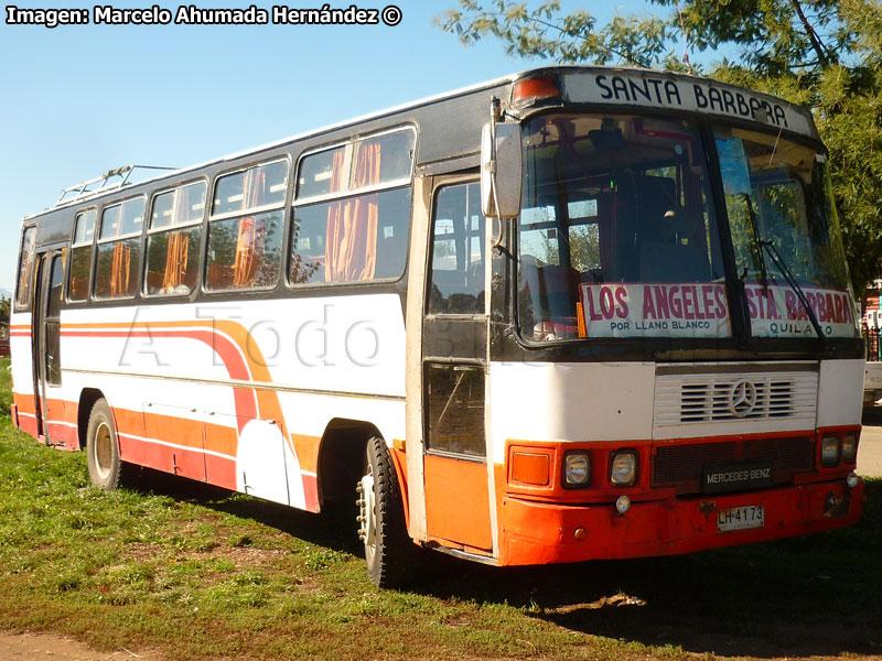 A todo bus chile 8 a os de norte a sur marcando la for Santa barbara mercedes benz