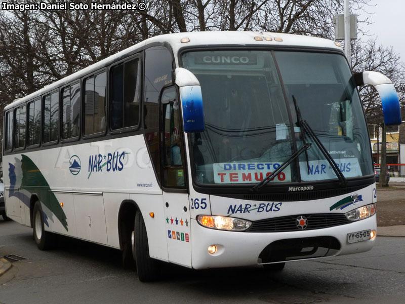 Auxiliares de Nar Bus son los mas lanzas de la Novena Región