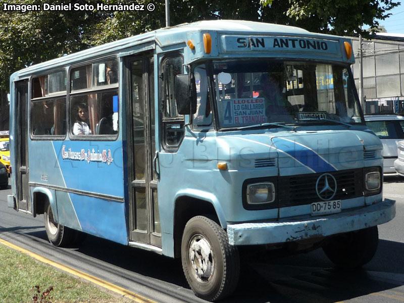 A todo bus chile 8 a os de norte a sur marcando la for San antonio mercedes benz