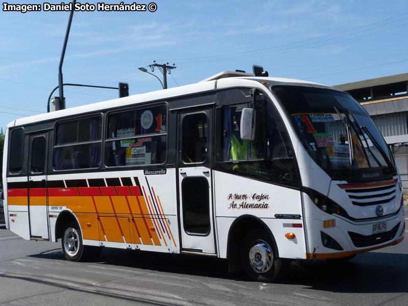 Resultado de imagen para Línea 1A Temuco
