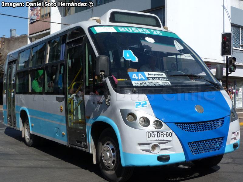 Resultado de imagen para Línea 4A Temuco