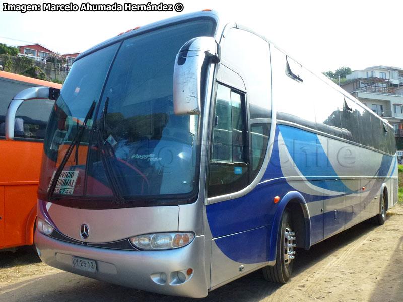 A todo bus chile 8 a os de norte a sur marcando la for Mercedes benz complaints procedure